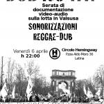 Volantino DUB NO TAV 6 aprile
